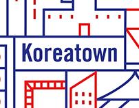 Koreatown Branding