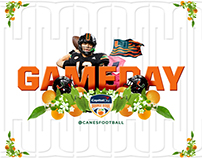 Orange Bowl Social Media Animations
