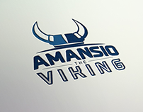 Amansio The Viking - Logo Design