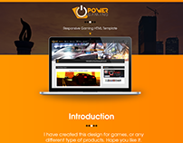 PowerGaming | Gaming Template