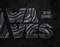 Waves PSD Alphabet
