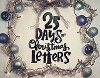 25 Days of Christmas Letters