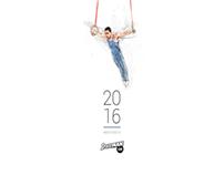 Portraits of athletes - 2016 Calendar Stoiximan