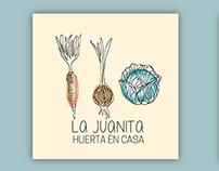 Branding for La Juanita Huertas