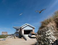 Fistral Beach Lifeguards hut