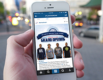 Atlanta Dream - Online Store Graphics