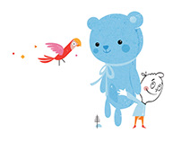 Catch the Blue Bear for Me / picture book