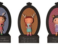 """Words from the heart"" Art Toys"