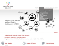Hiring Solutions Company, WebSite redesign