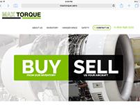 Maxtorque.aero Website Design