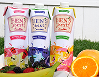 Ben's Best Smoothies Identity and Packaging