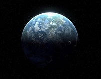 Blue Planet - Distant Shot of Earth