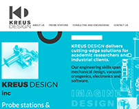 KREUS DESIGN website