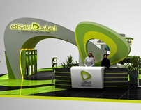 Etisalat Booth at GITEX shopper 2012