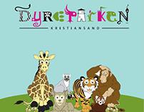 Dyreparken brosjyre + plakat