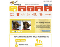 Deepetch Landing Page Redesign