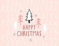 Happy Christmas Illustration