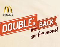 McDonald's : Double's back!