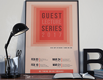 Poster: Guest Lecture Series