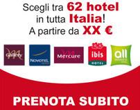 Multimedia - Campagne banner Accor Italia