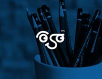 Osama portraits   logo design
