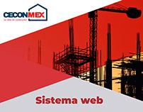 ERP web - CECONMEX (control de materiales y logística)