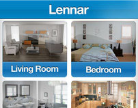 Iphone App UI Design For LENNAR