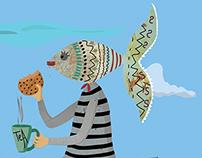 balık kadın