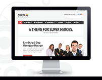 Shaka - Premium WordPress Theme for Super Heroes