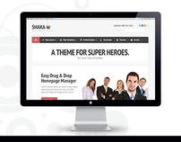Shaka - Premium WordPress Theme for Super Heroes