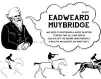 Minicomic about Eadweard Muybridge