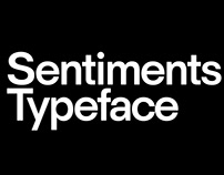 HK Sentiments Typeface