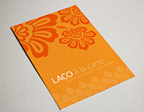 LACO à la carte Invitation Package Design