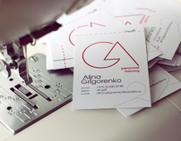 corporate identity for an individual tailor