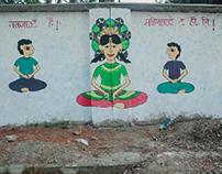 Mestrual Hygiene Day Mural