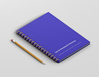 Spiral Ring Notebook Mockup