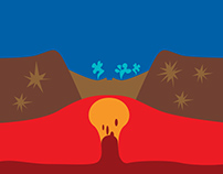 Le volcan du parc Yellowstone / ICI Explora