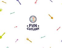 Fun cutlery logo