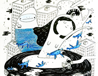Inner trip - Illustrations