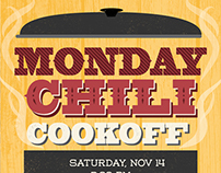 Chili Cookoff Poster
