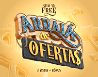 """Arraiá de Ofertas"" - Selo 3D free download"