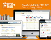 GMAT club MARKETPLACE:  Custom Design & Dev
