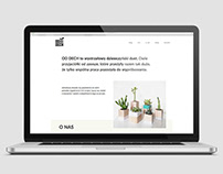 Od dech - website design and coding
