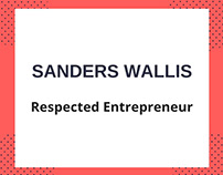 Sanders Wallis: Respected Entrepreneur