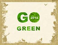 OKKO Calendar GO GREEN - 2013