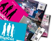 DigiCut 2011 post card