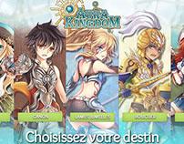 Aura Kingdom Landing Pages