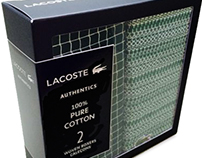 Lacoste Holiday Packaging