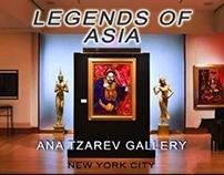 "Ana Tzarev ""Legends Of Asia"" Exhibition Promo"