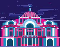 MÉXICO arquitectura y monumentos I